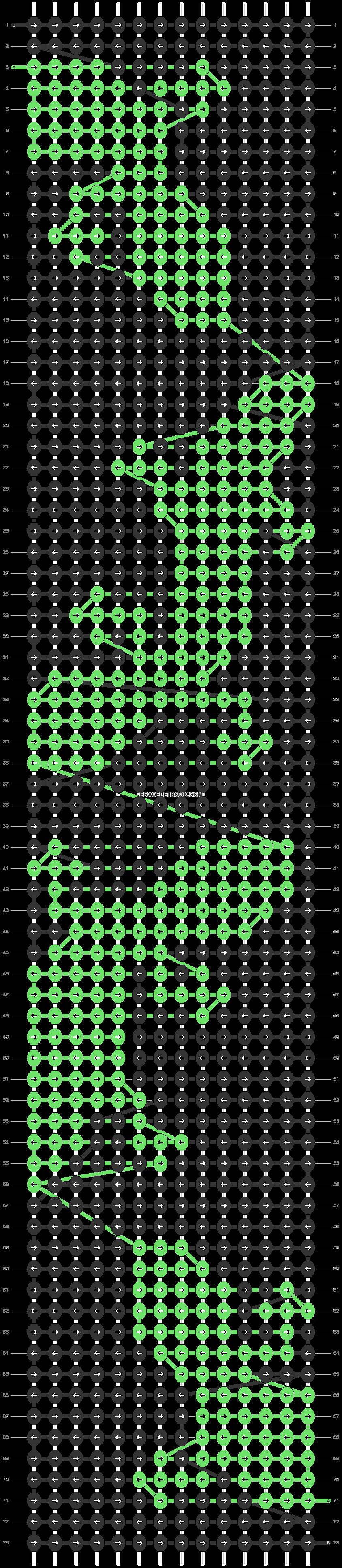 Alpha pattern #70973 pattern