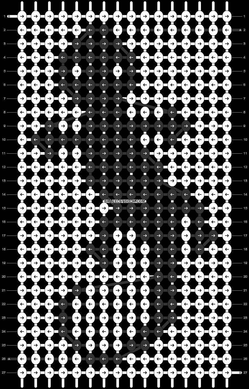 Alpha pattern #70974 pattern