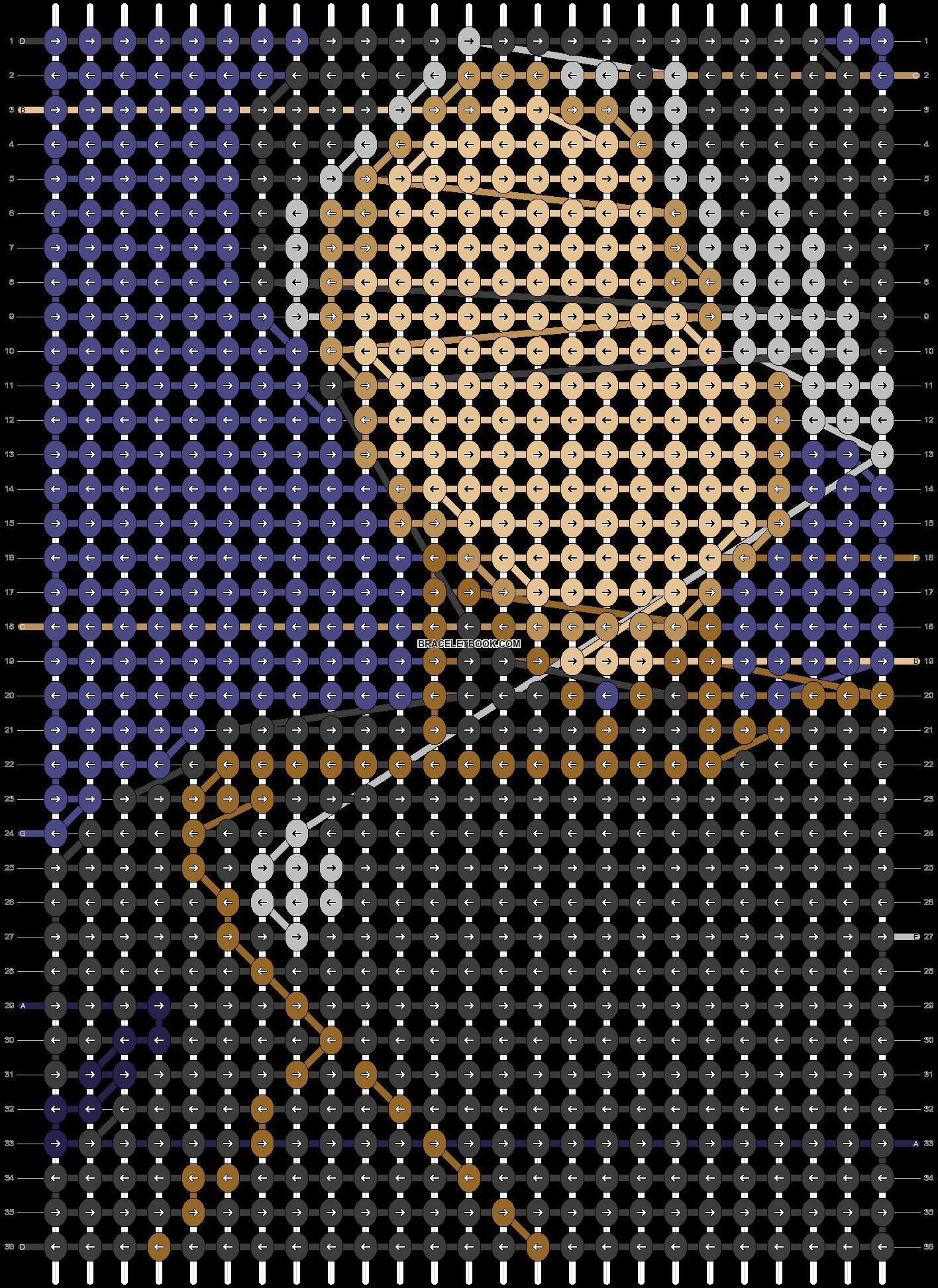 Alpha pattern #71013 pattern