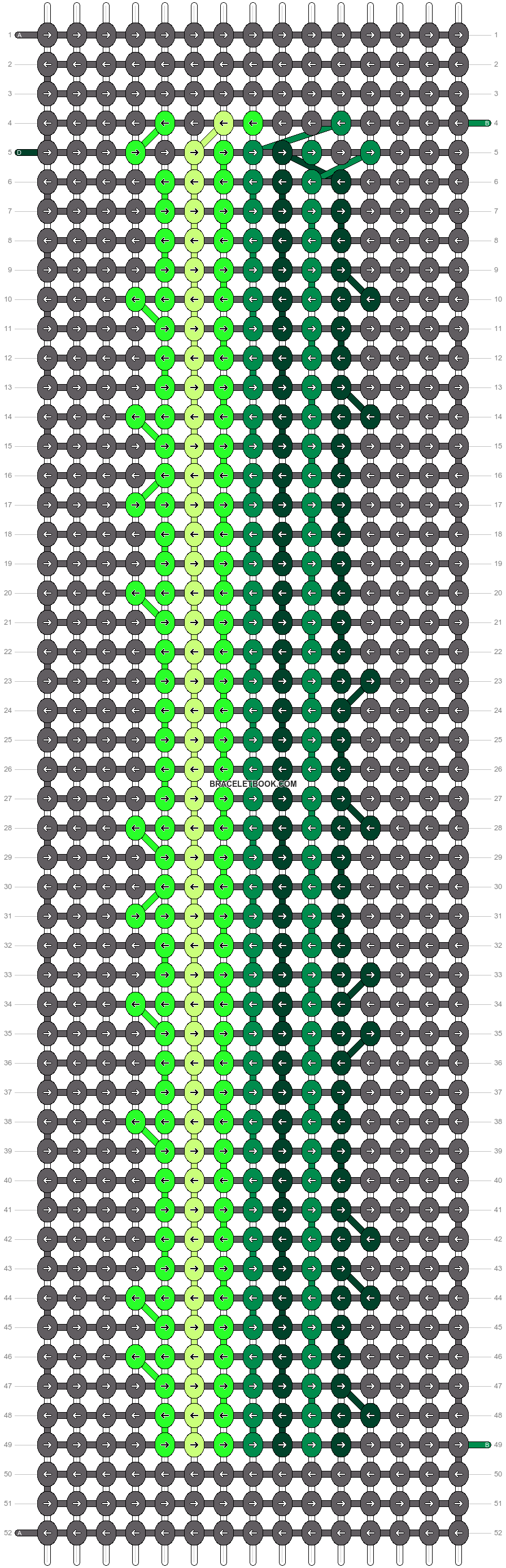 Alpha pattern #71015 pattern