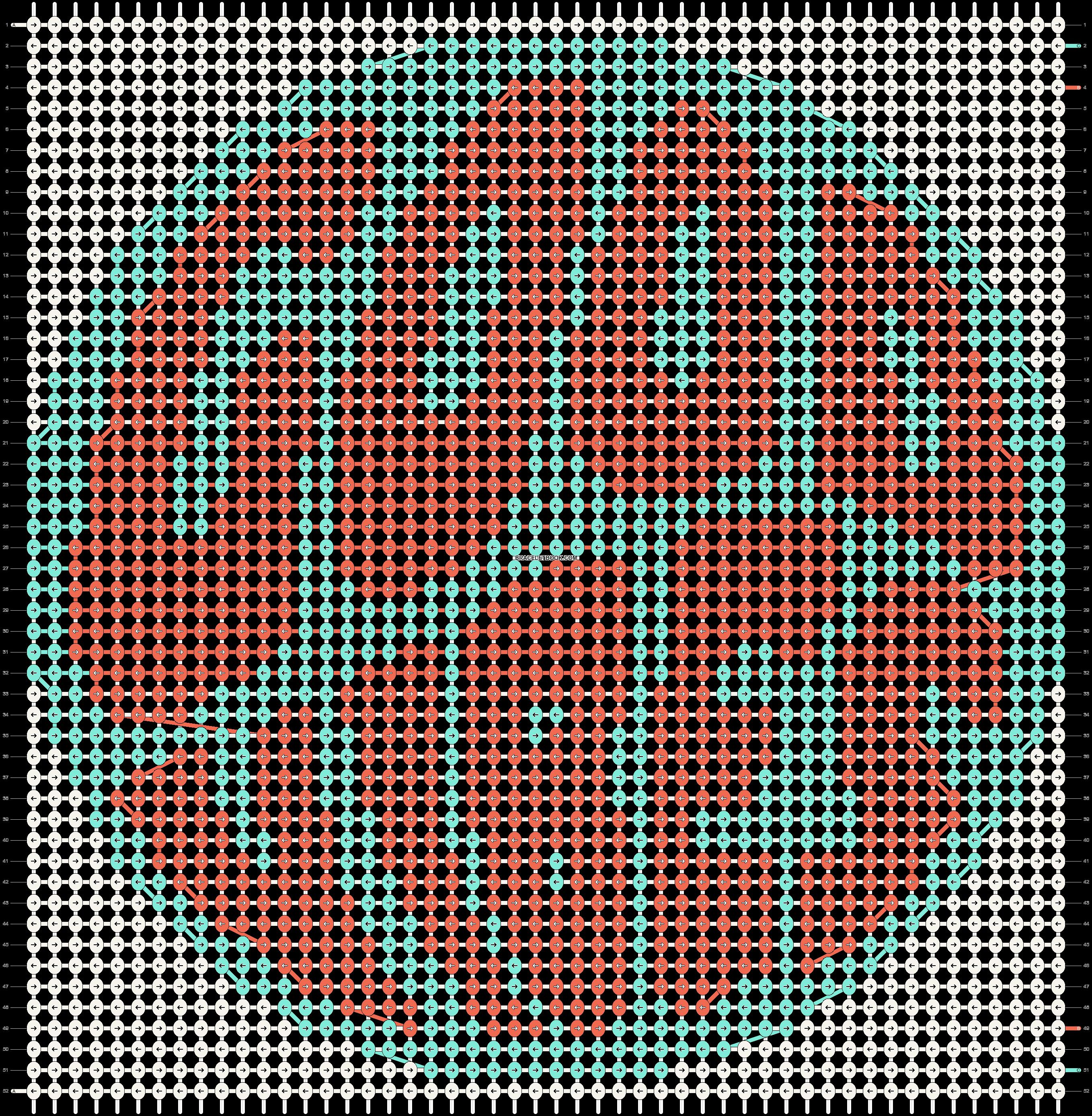 Alpha pattern #71060 pattern