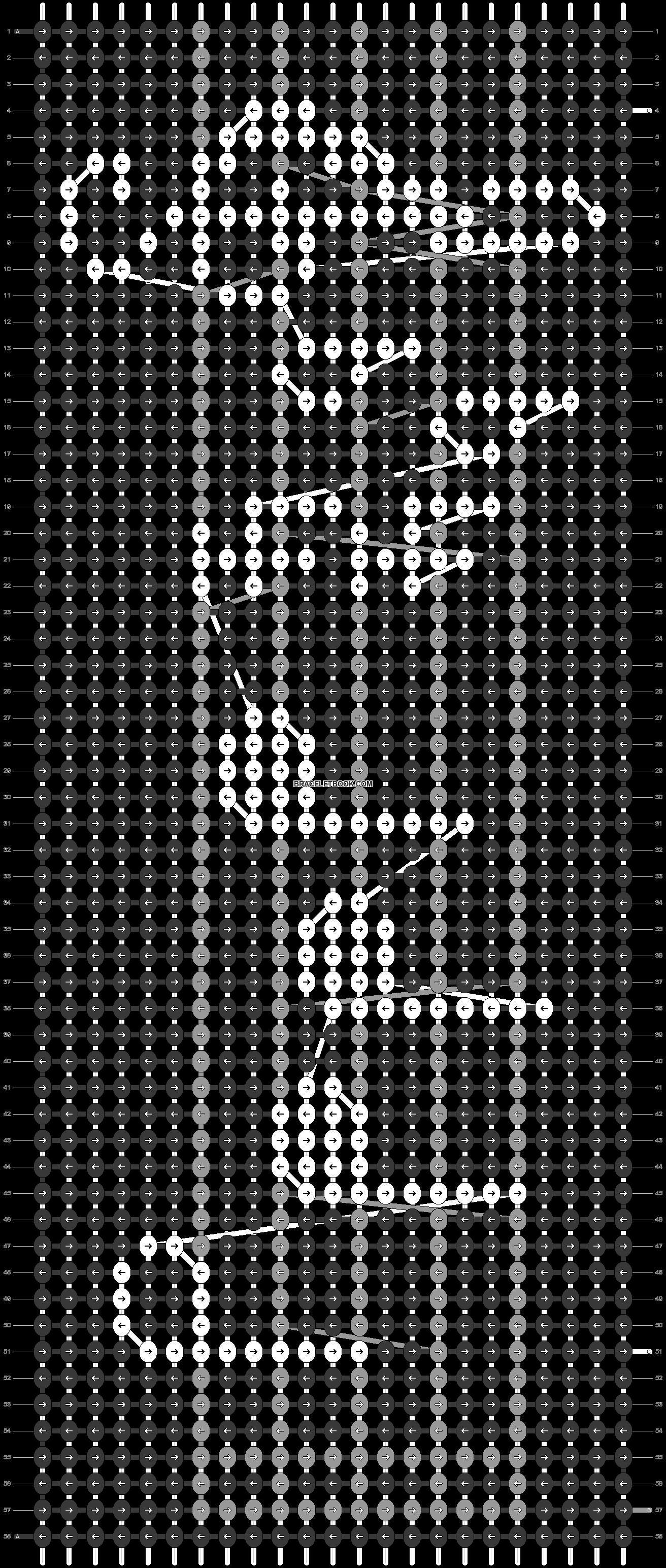 Alpha pattern #71080 pattern