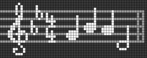 Alpha pattern #71080