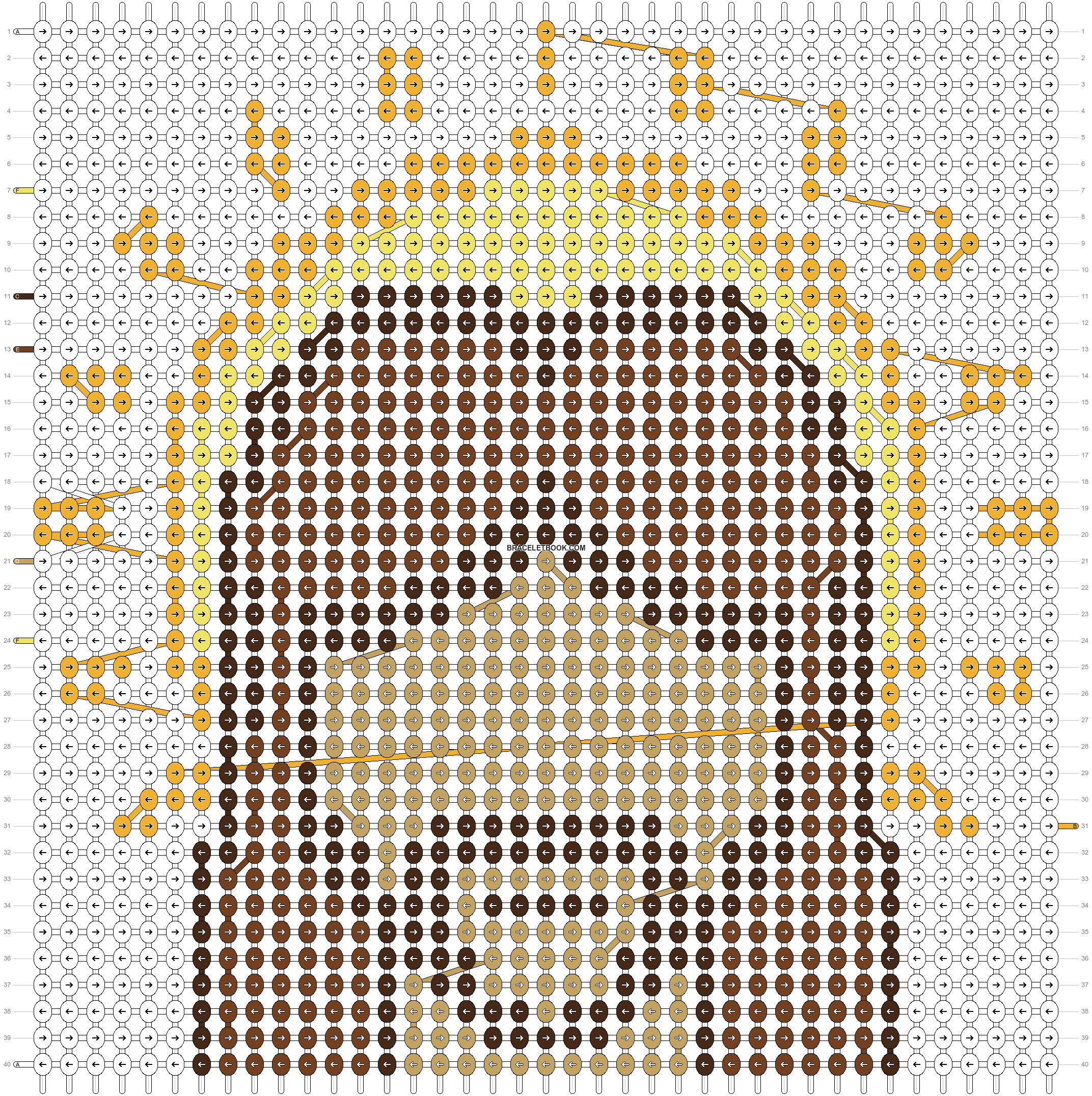 Alpha pattern #71115 pattern