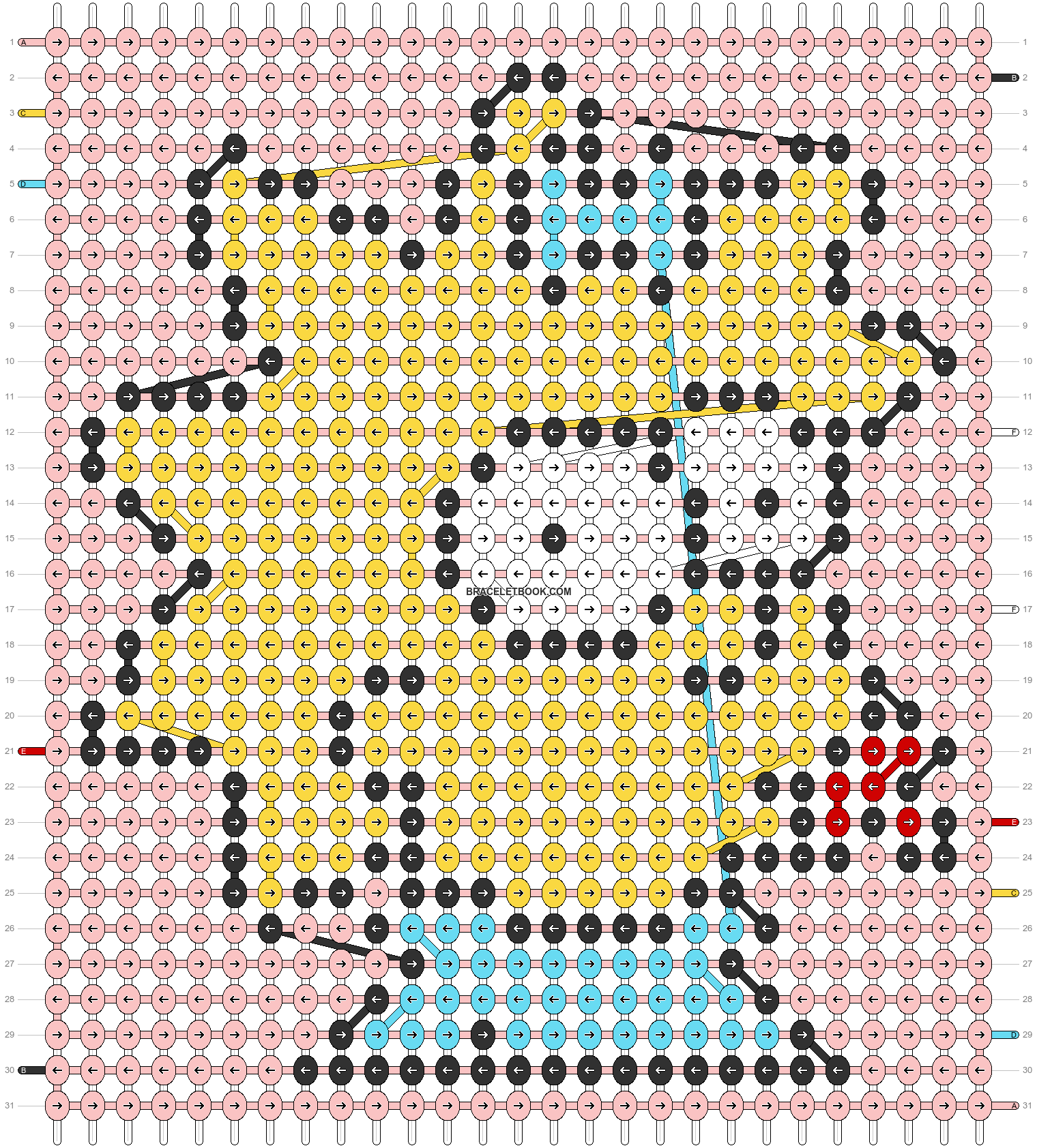 Alpha pattern #71119 pattern