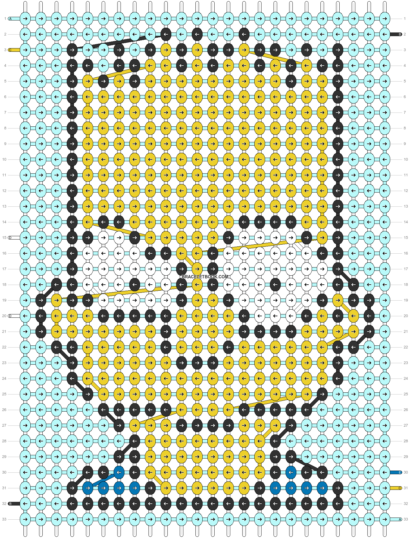 Alpha pattern #71121 pattern