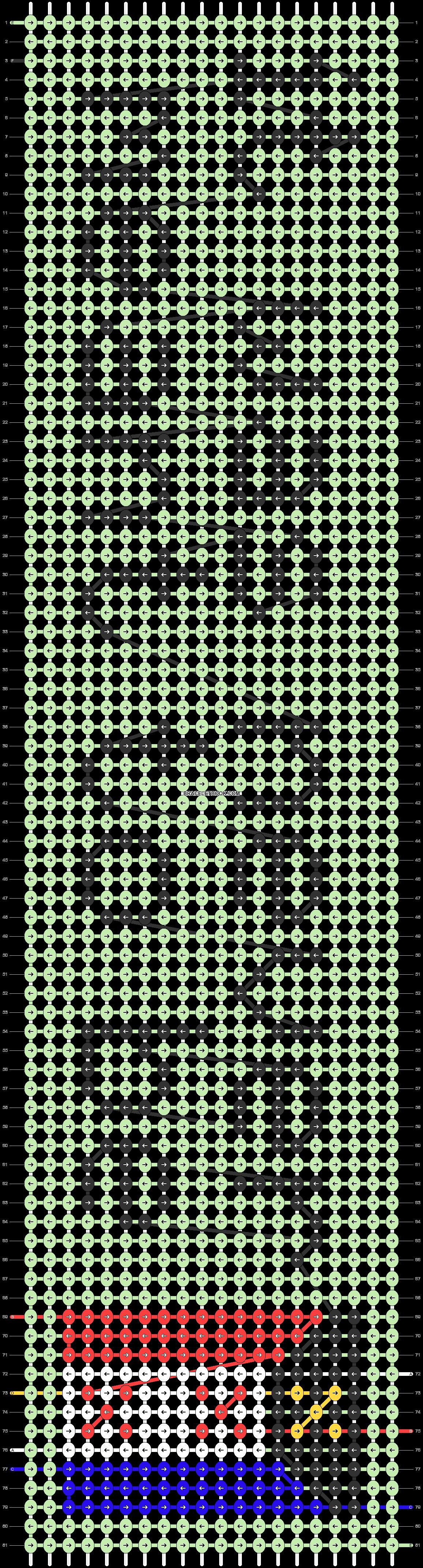 Alpha pattern #71151 pattern