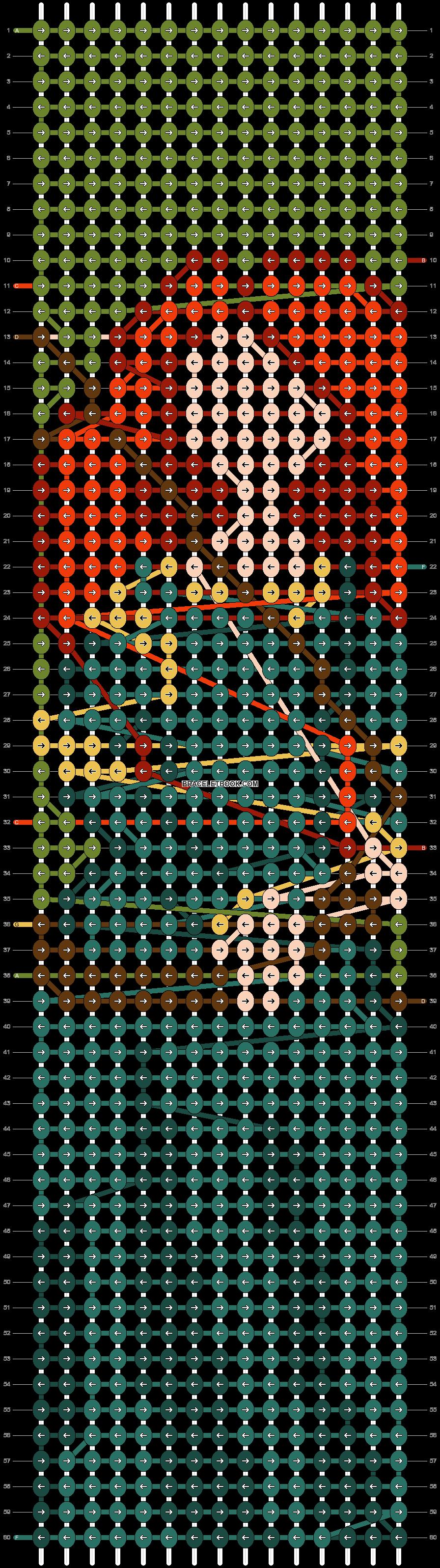Alpha pattern #71182 pattern