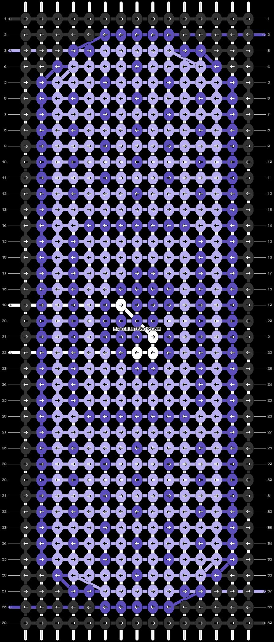 Alpha pattern #71220 pattern