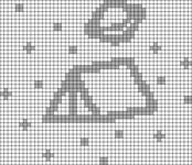 Alpha pattern #71305