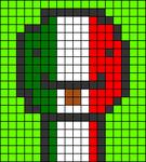 Alpha pattern #71331