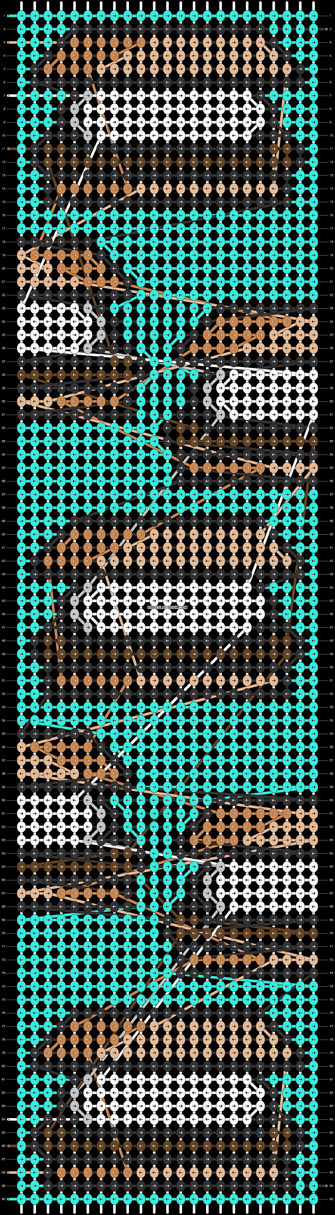 Alpha pattern #71370 pattern