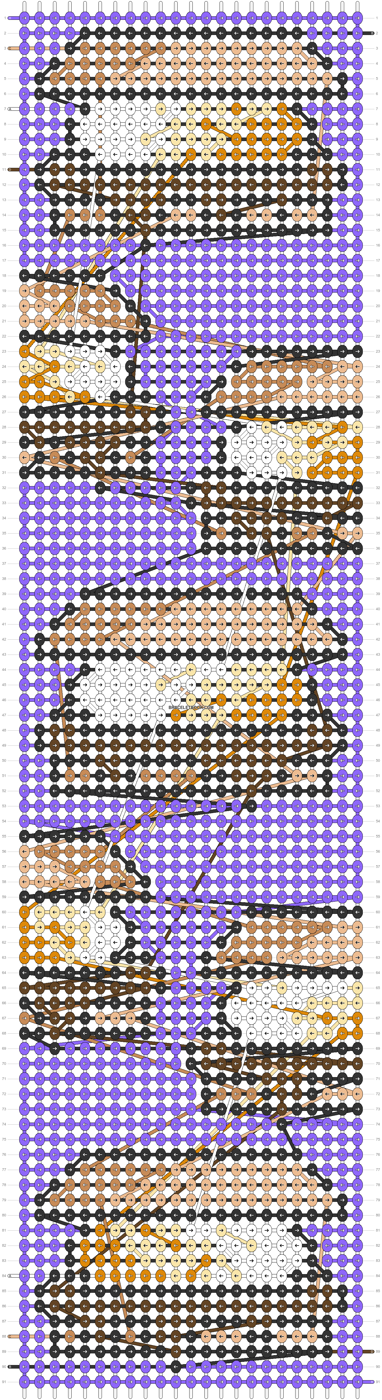 Alpha pattern #71371 pattern