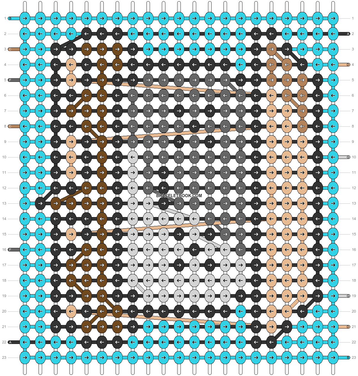 Alpha pattern #71378 pattern