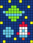 Alpha pattern #71400
