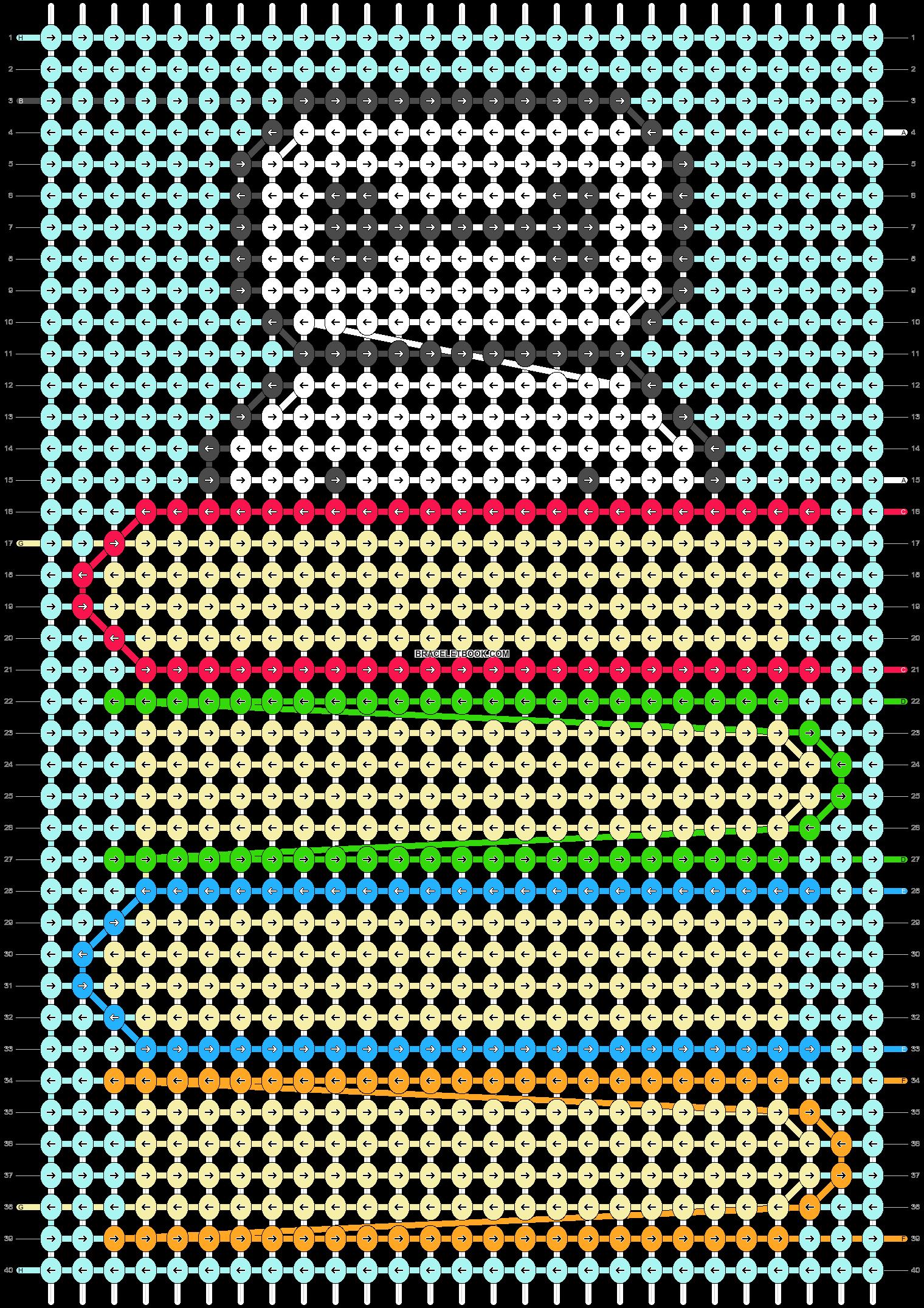 Alpha pattern #71429 pattern