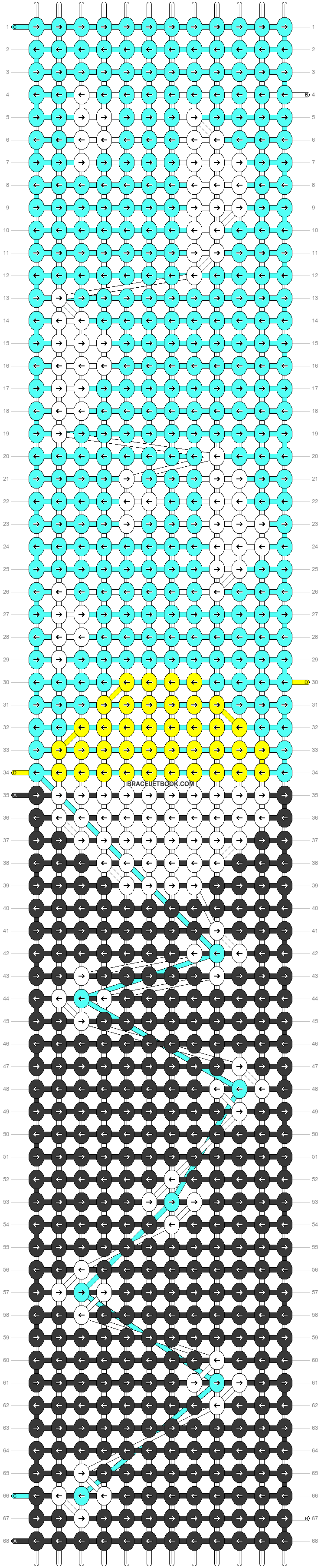 Alpha pattern #71433 pattern