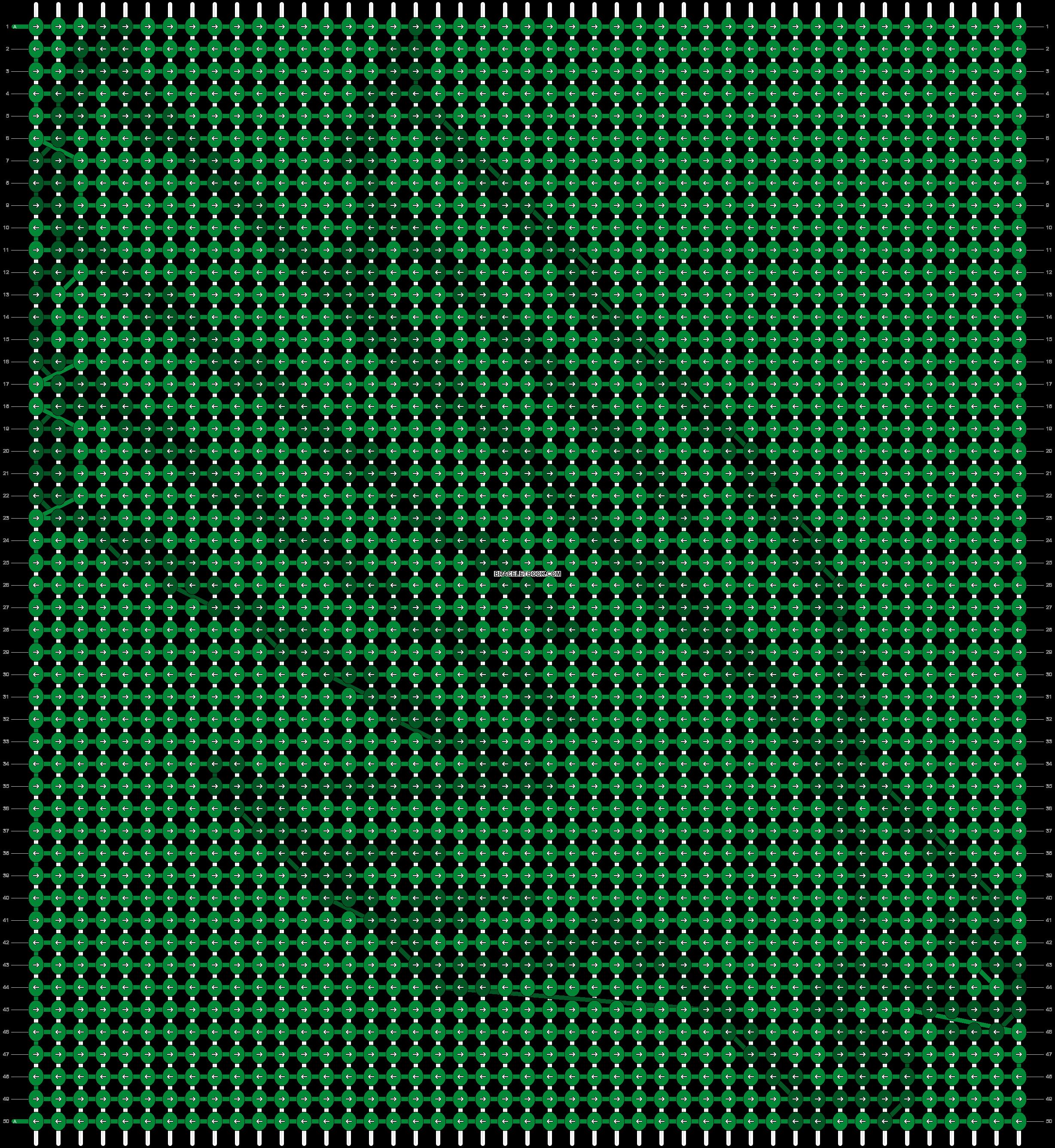 Alpha pattern #71442 pattern