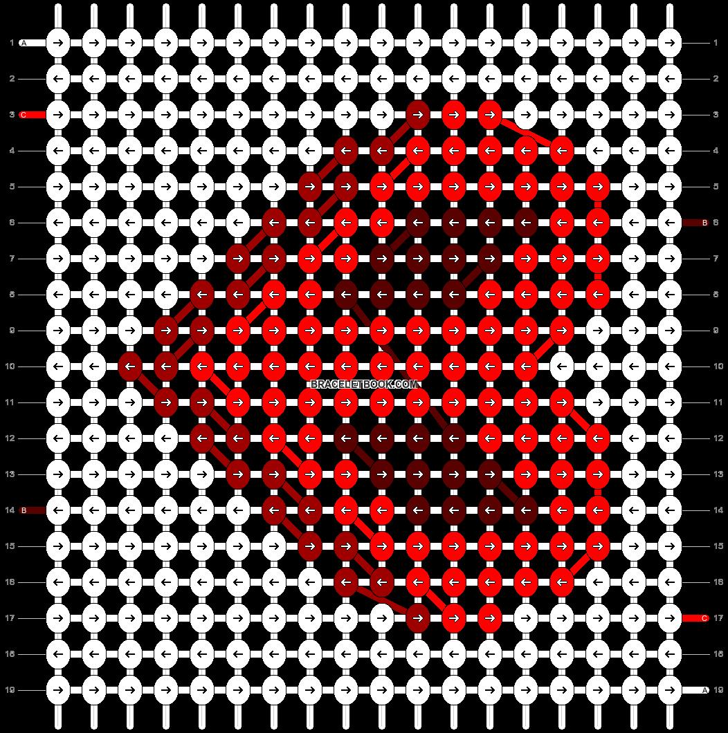 Alpha pattern #71492 pattern