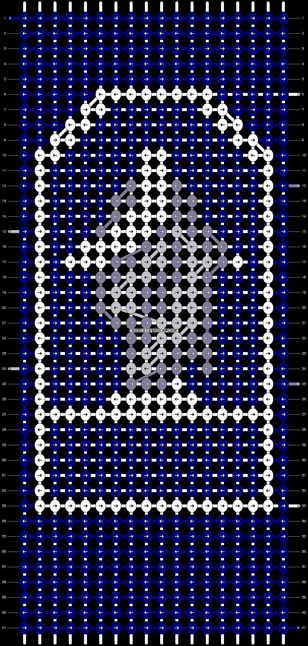 Alpha pattern #71507 pattern