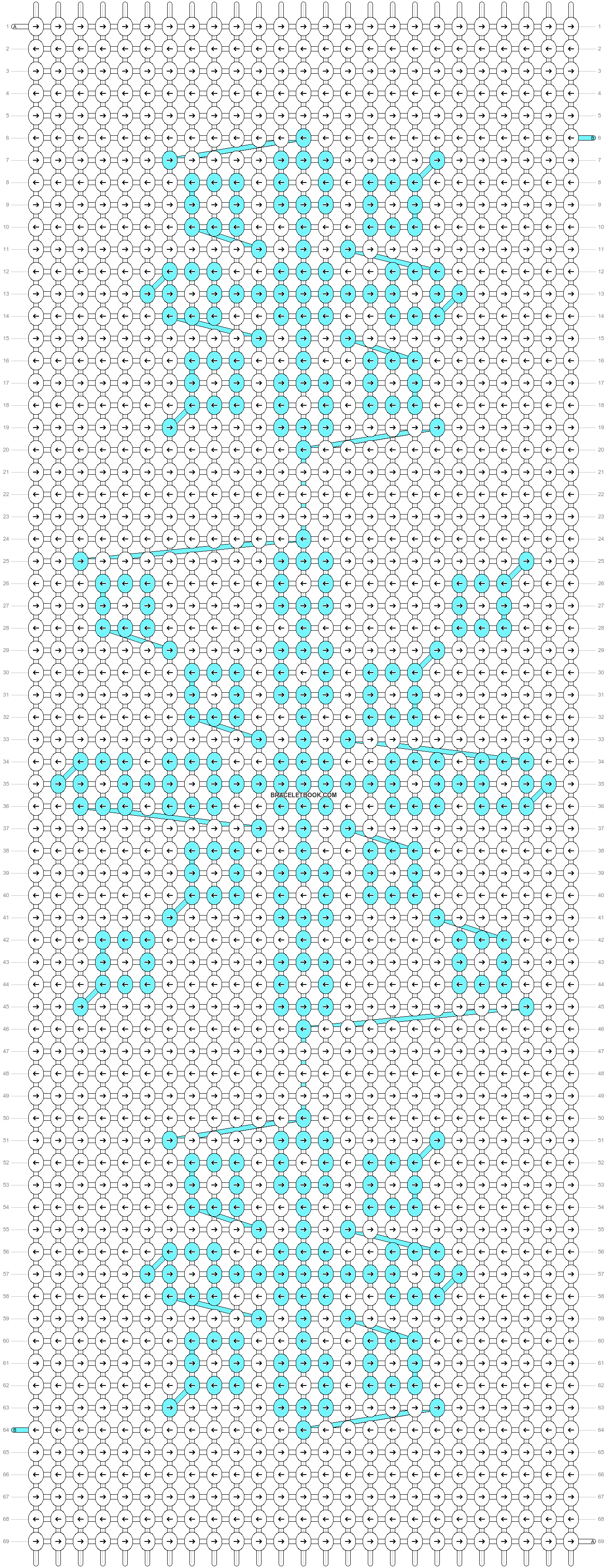 Alpha pattern #71514 pattern