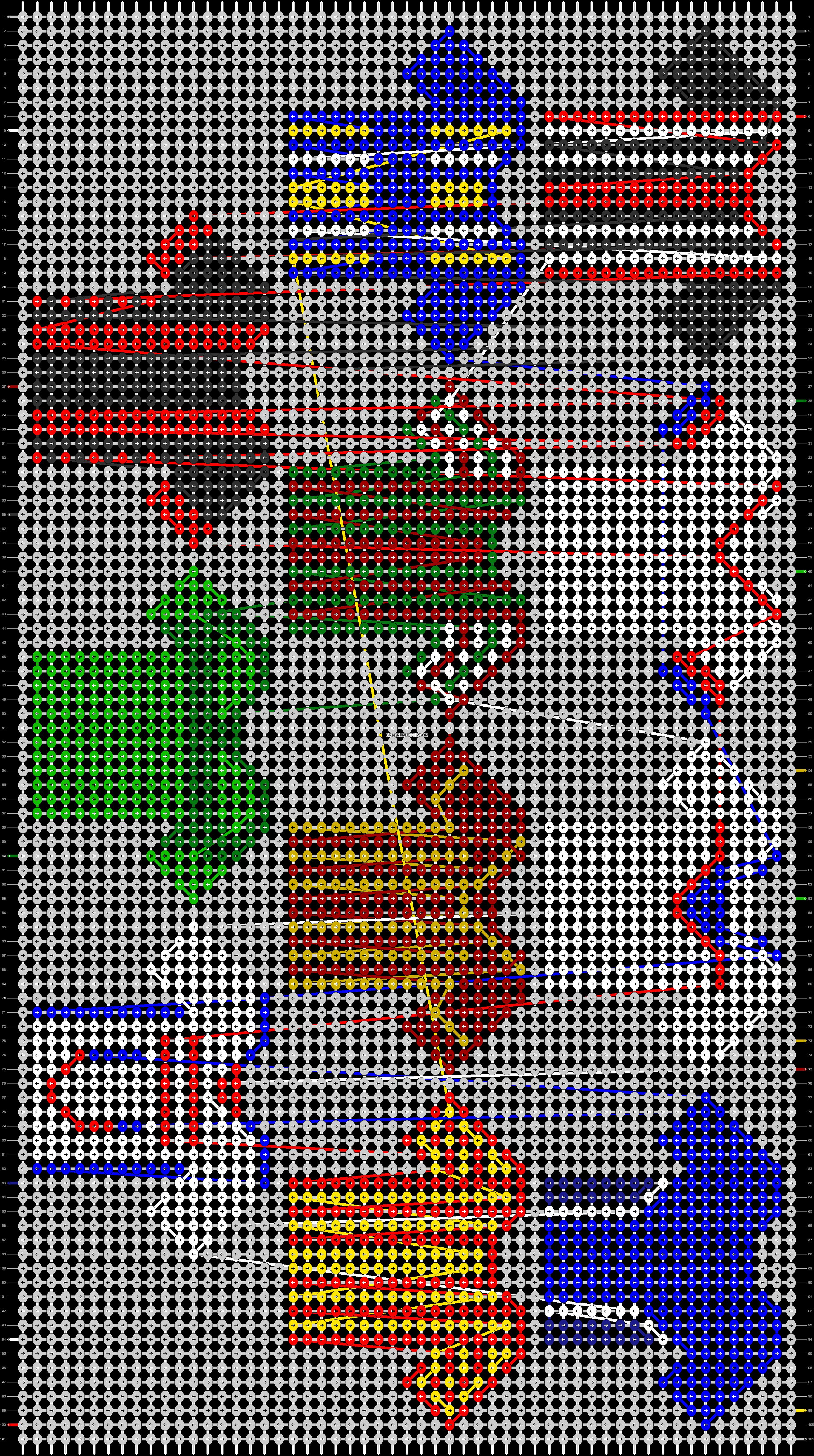 Alpha pattern #71562 pattern