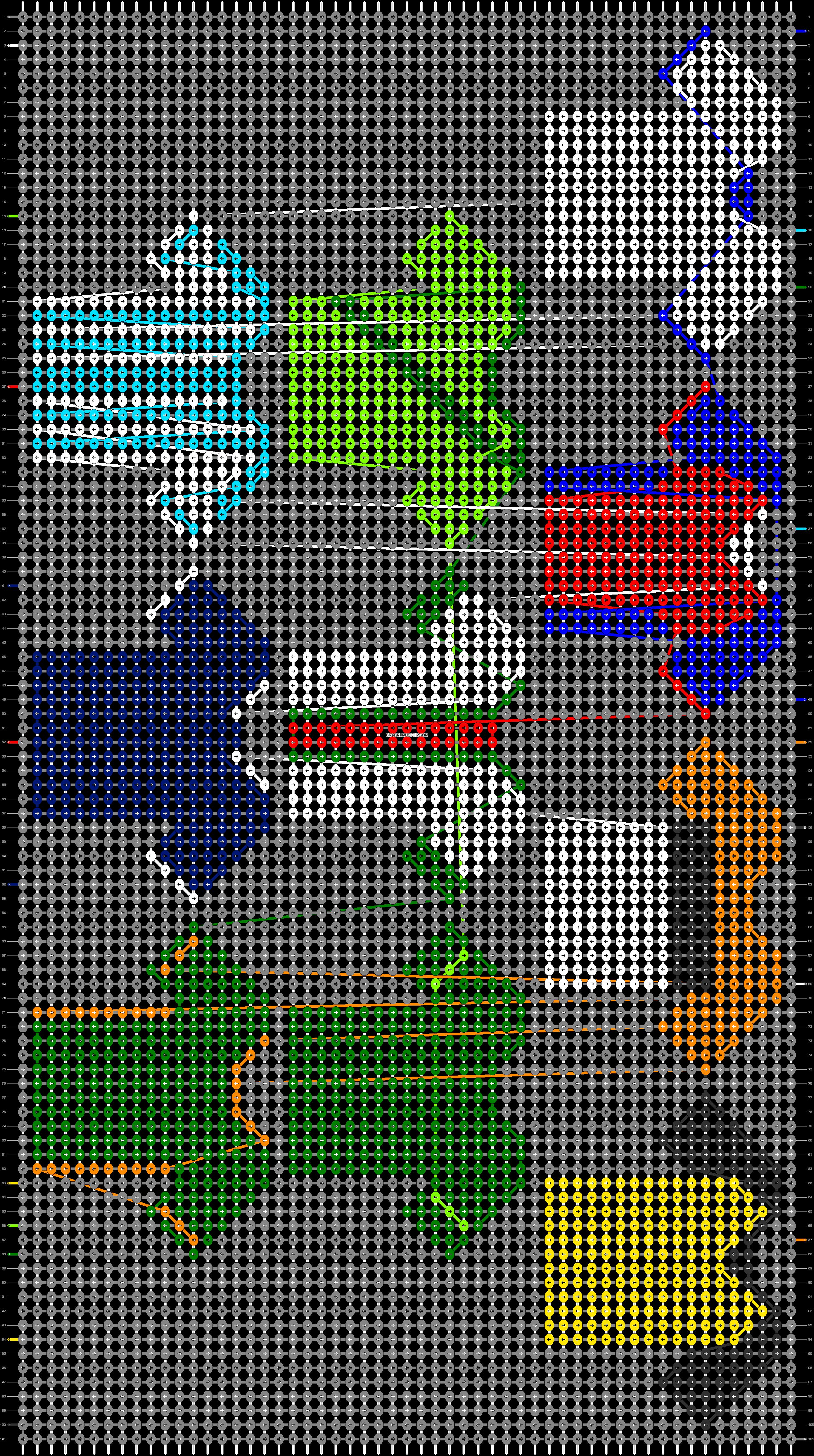 Alpha pattern #71565 pattern