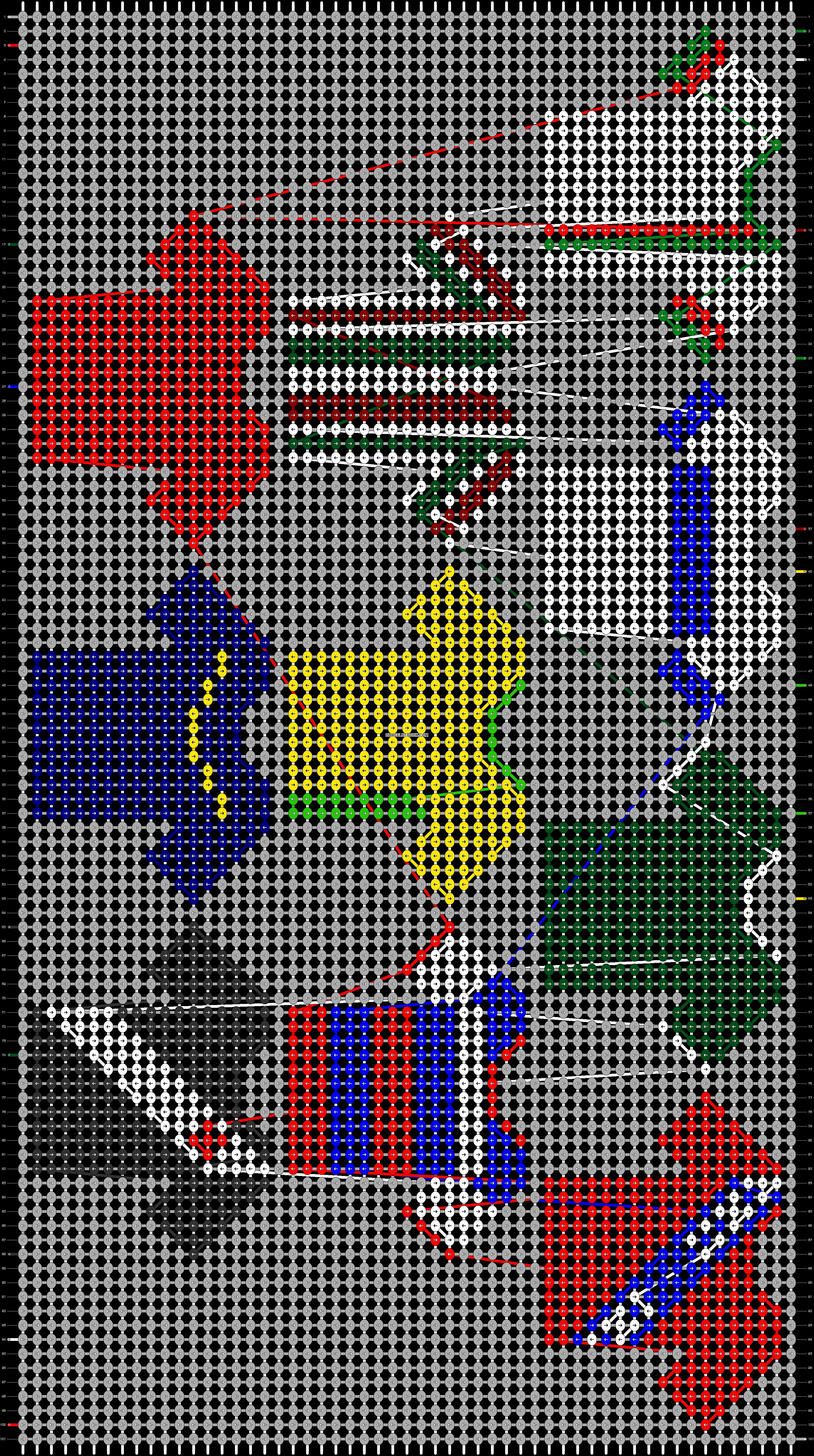 Alpha pattern #71573 pattern