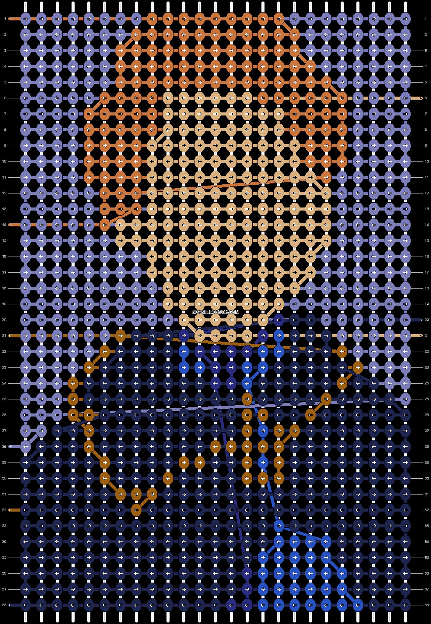 Alpha pattern #71618 pattern