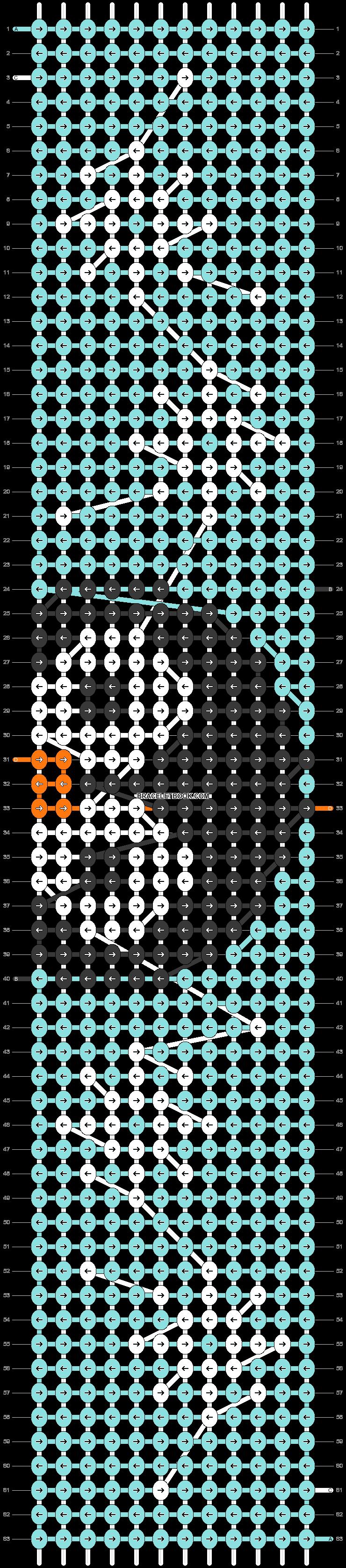 Alpha pattern #71658 pattern