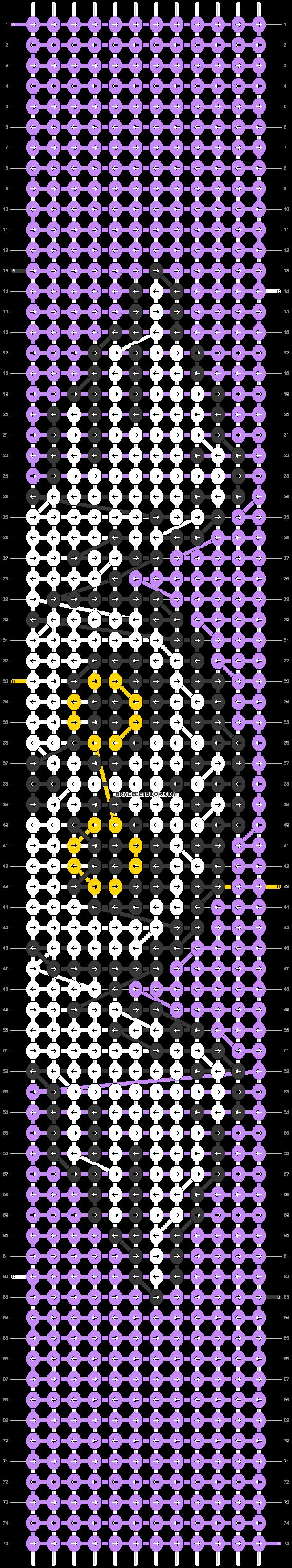 Alpha pattern #71664 pattern