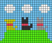 Alpha pattern #71709