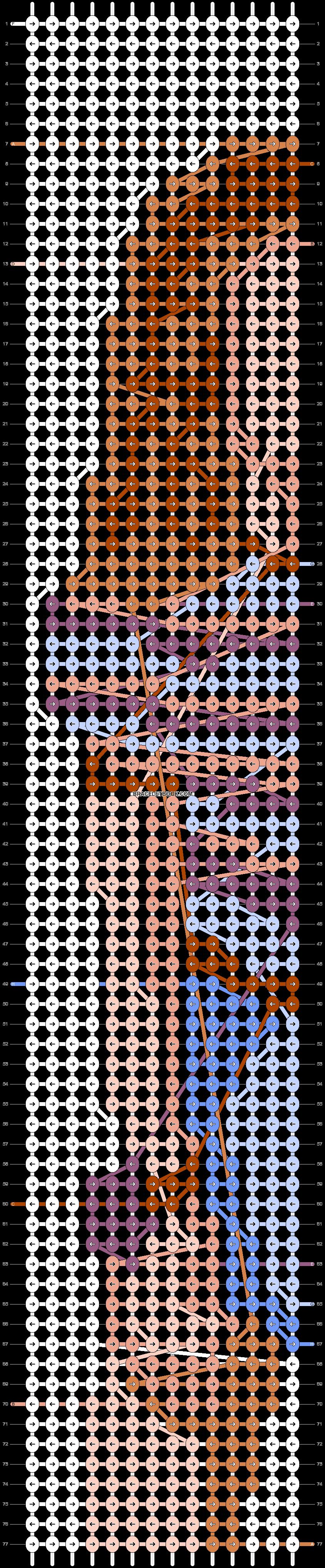 Alpha pattern #71710 pattern