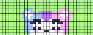 Alpha pattern #71717