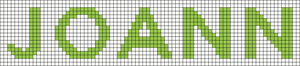 Alpha pattern #71722