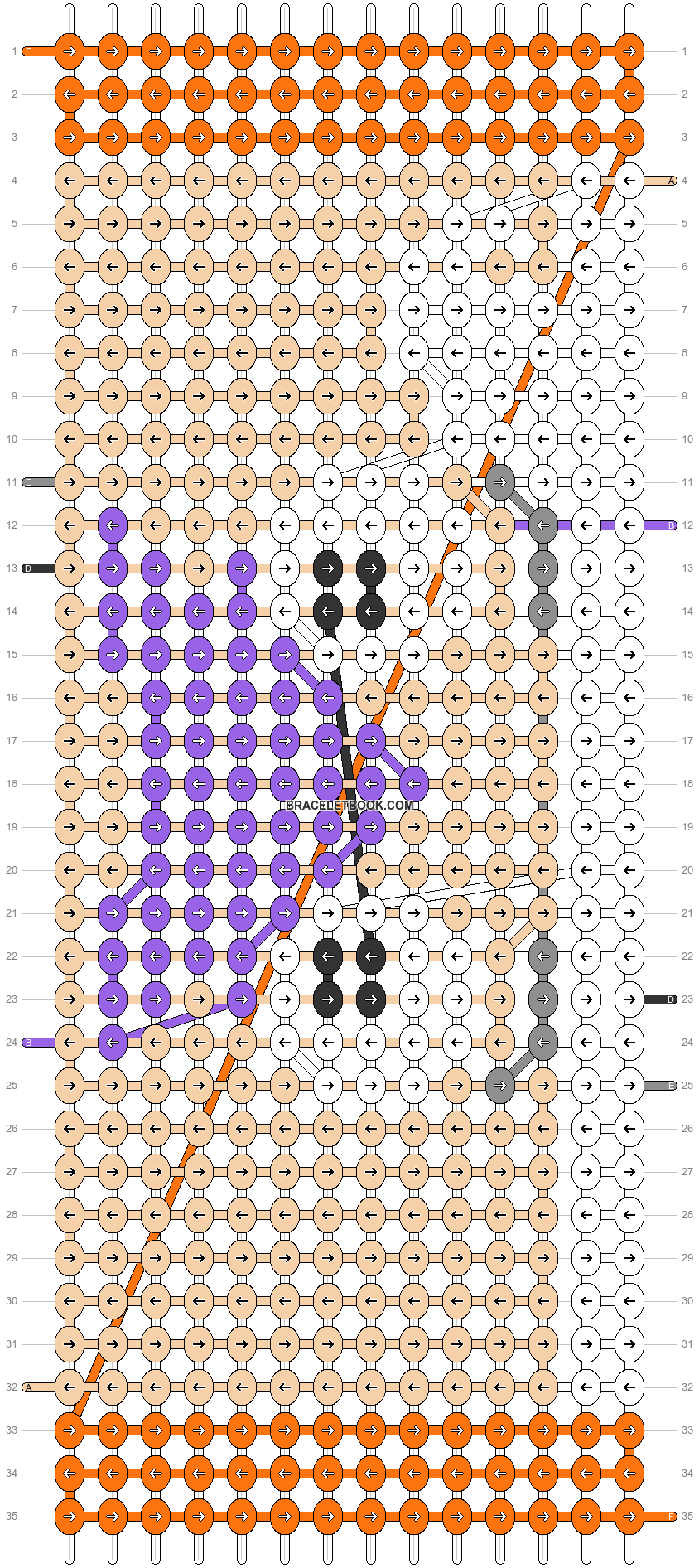 Alpha pattern #71745 pattern