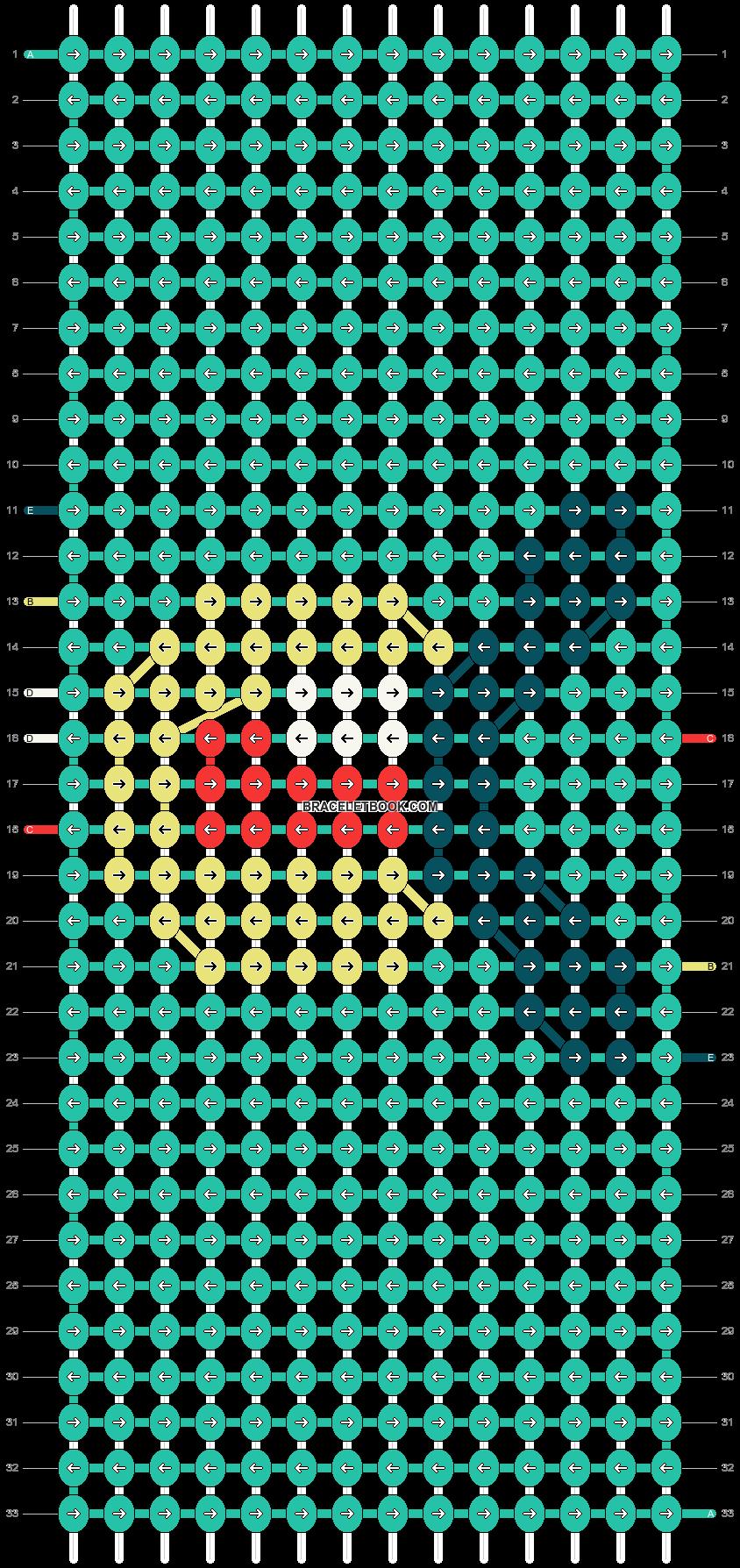 Alpha pattern #71753 pattern