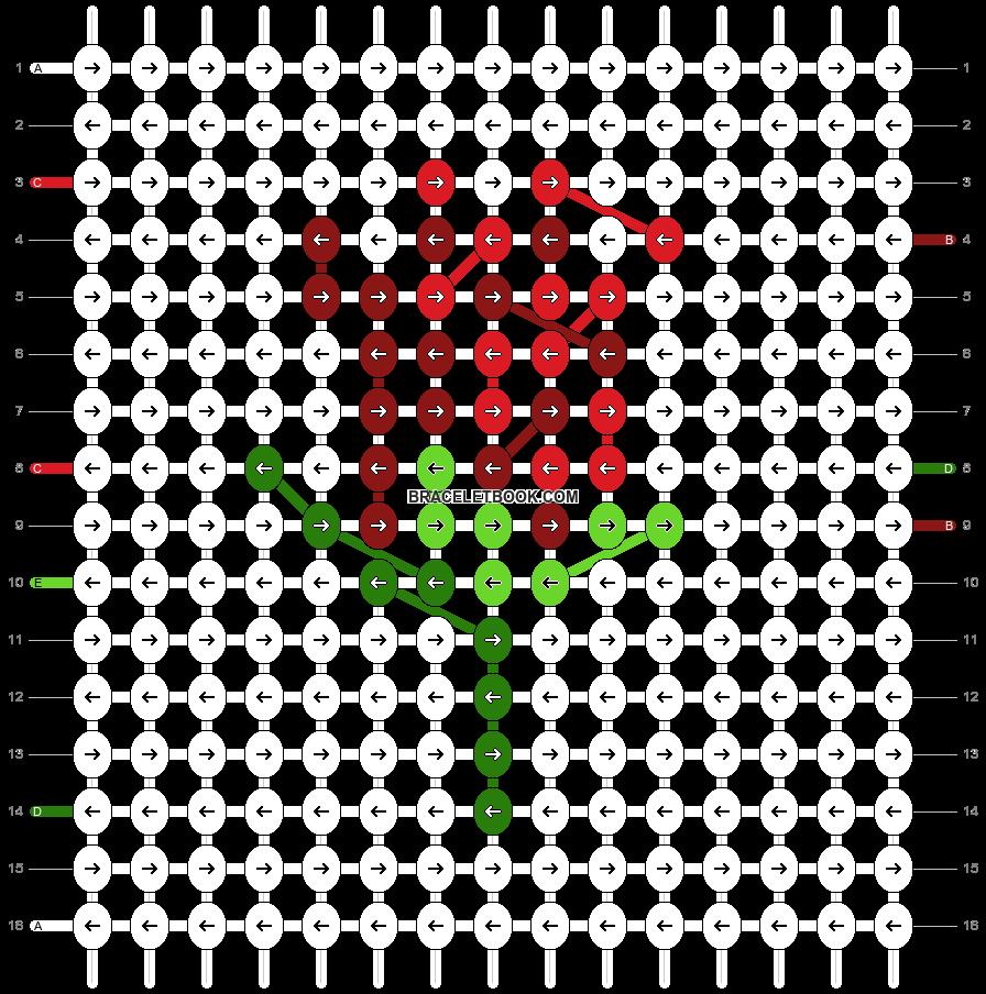 Alpha pattern #71760 pattern