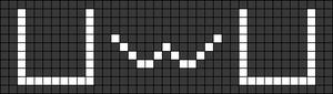 Alpha pattern #71836