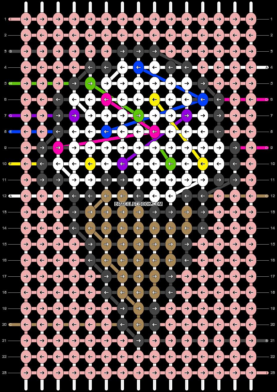 Alpha pattern #71877 pattern