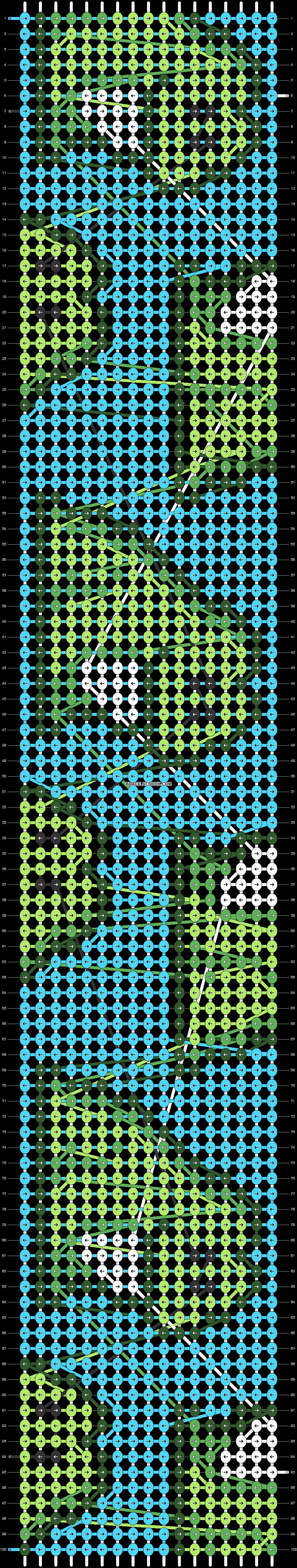 Alpha pattern #71904 pattern