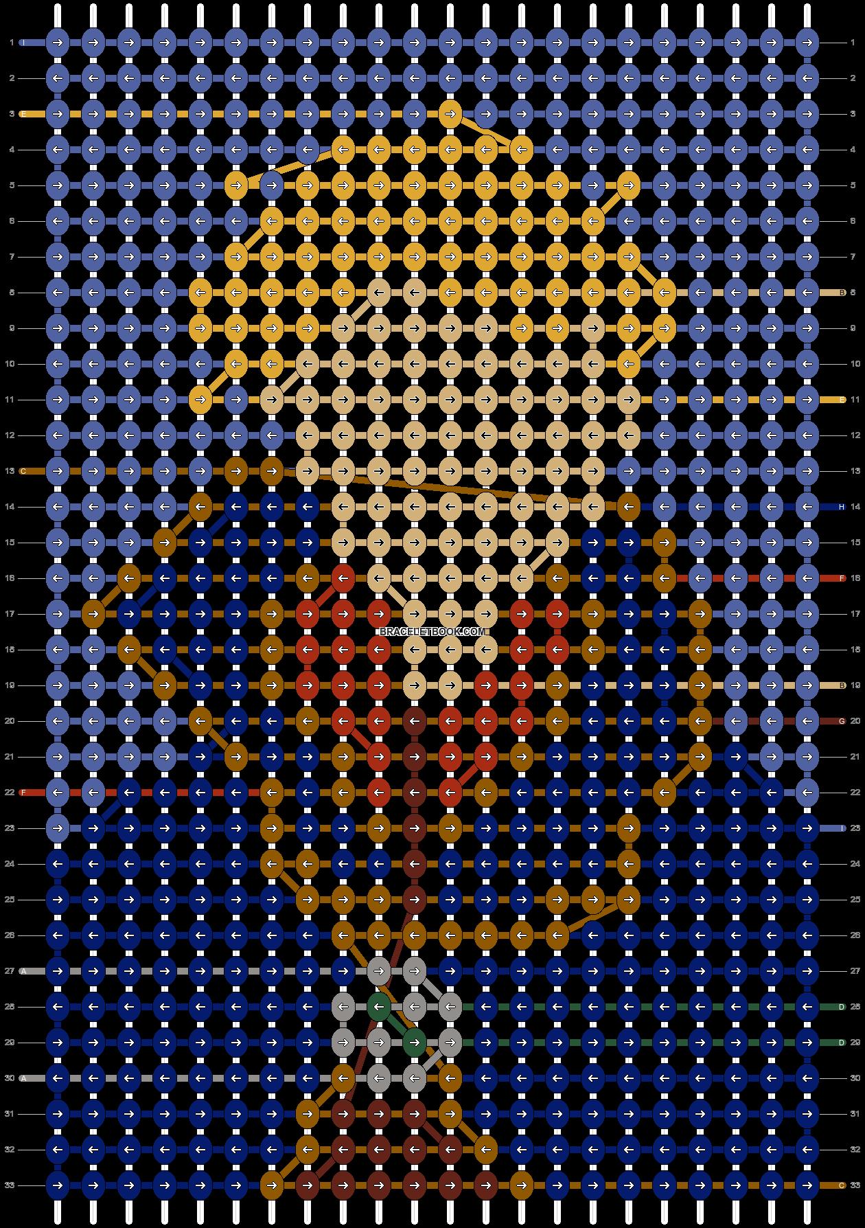 Alpha pattern #71940 pattern
