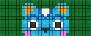 Alpha pattern #71968