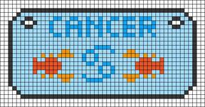 Alpha pattern #71988