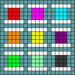 Alpha pattern #72031
