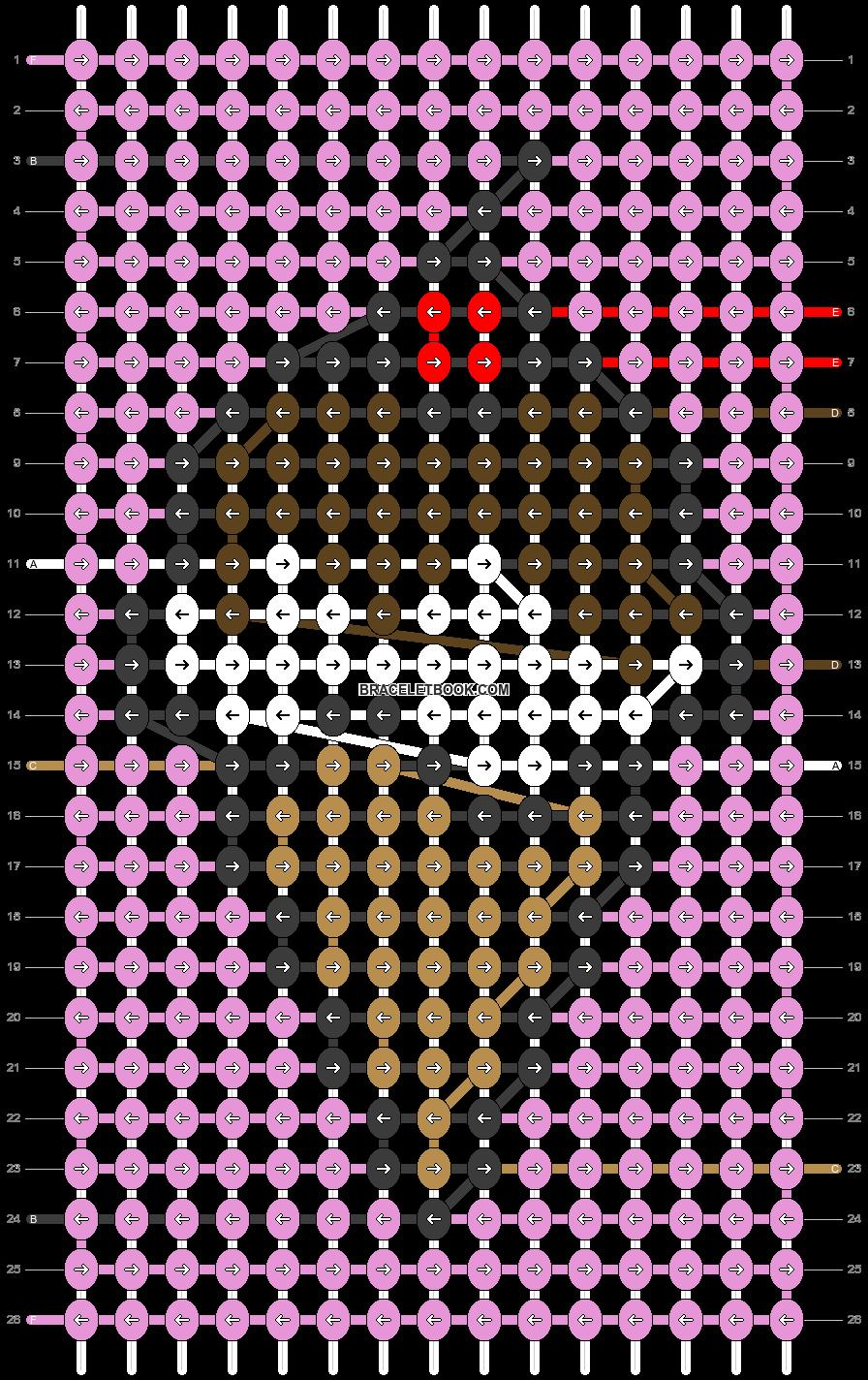 Alpha pattern #72036 pattern