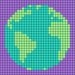 Alpha pattern #72064
