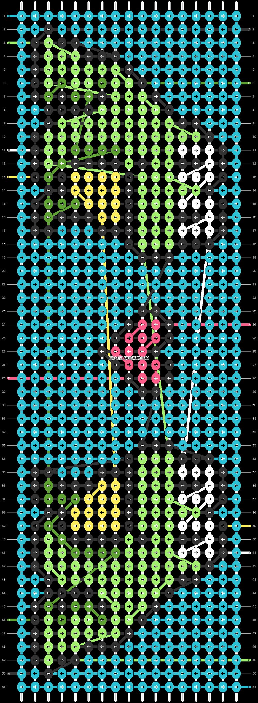 Alpha pattern #72090 pattern