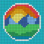 Alpha pattern #72092