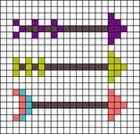 Alpha pattern #72108